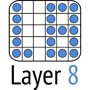 Layer 8 logo